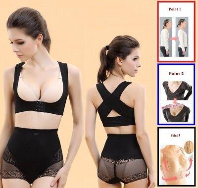 Adjustable Women Back Support Belt Posture Corrector Brace Shoulder Health (Adjustable Back Support Belt)