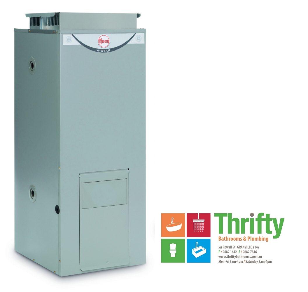Rheem 90L External Gas Hot Water Heater Natural Gas 347090 | eBay