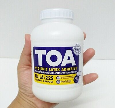 TOA Latex 16oz High Quality Glue Purpose Paper Wallpaper Woodwork Art&Craft Best