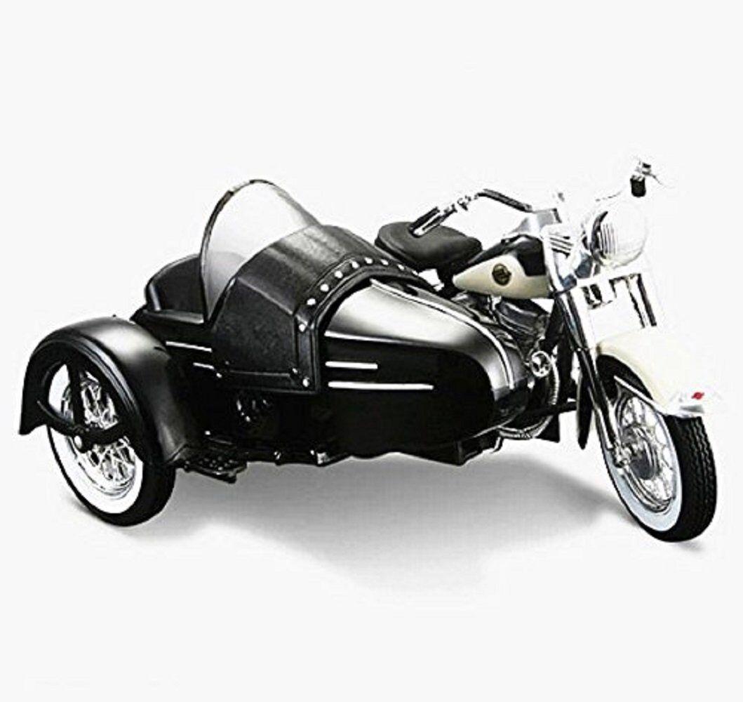 Игрушечная модель велосипеда или мотоцикла до 1970 года Maisto 1:18 Harley  Davidson 1958 FLH DUO GLIDE