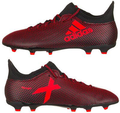 Adidas Junior Ace X 17.3 FG Football Boots Kids Boys Girls Firm Ground New