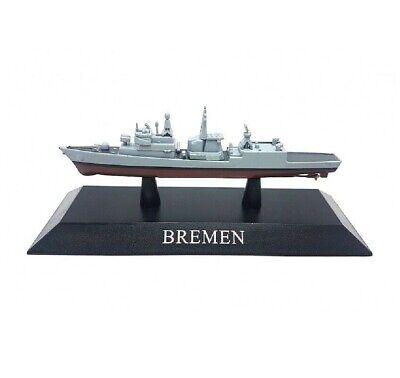 BREMEN Barco de Guerra 1:1250 Acorazado Diecast Agostini *27