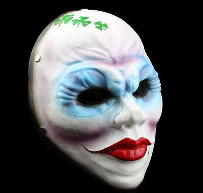 Cool Halloween Decoration (COOL Handmade Resin Payday 2 Bandidas Mask Halloween Decoration Cosplay)