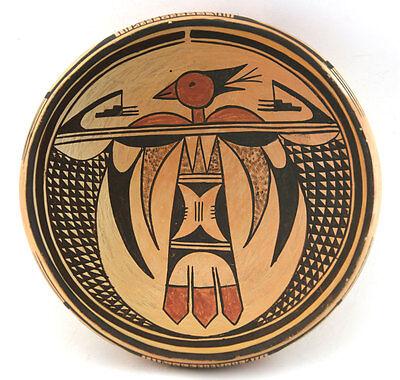 "Hopi Bowl, c. 1930, 2.75"" H x 9.25"" W"