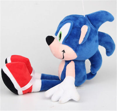 Sonic The Hedgehog Tails Knuckles Blue Plush Doll Figure Toy Gift 10 inch - Sonic The Hedgehog Tail