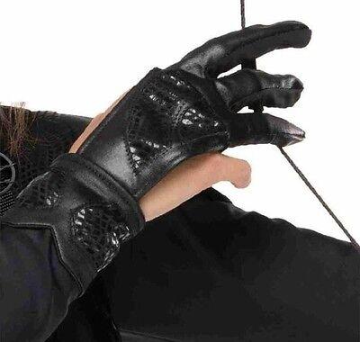 Girls Teen Hunger Games Katniss Archers TV Film Fancy Dress Costume Outfit Glove