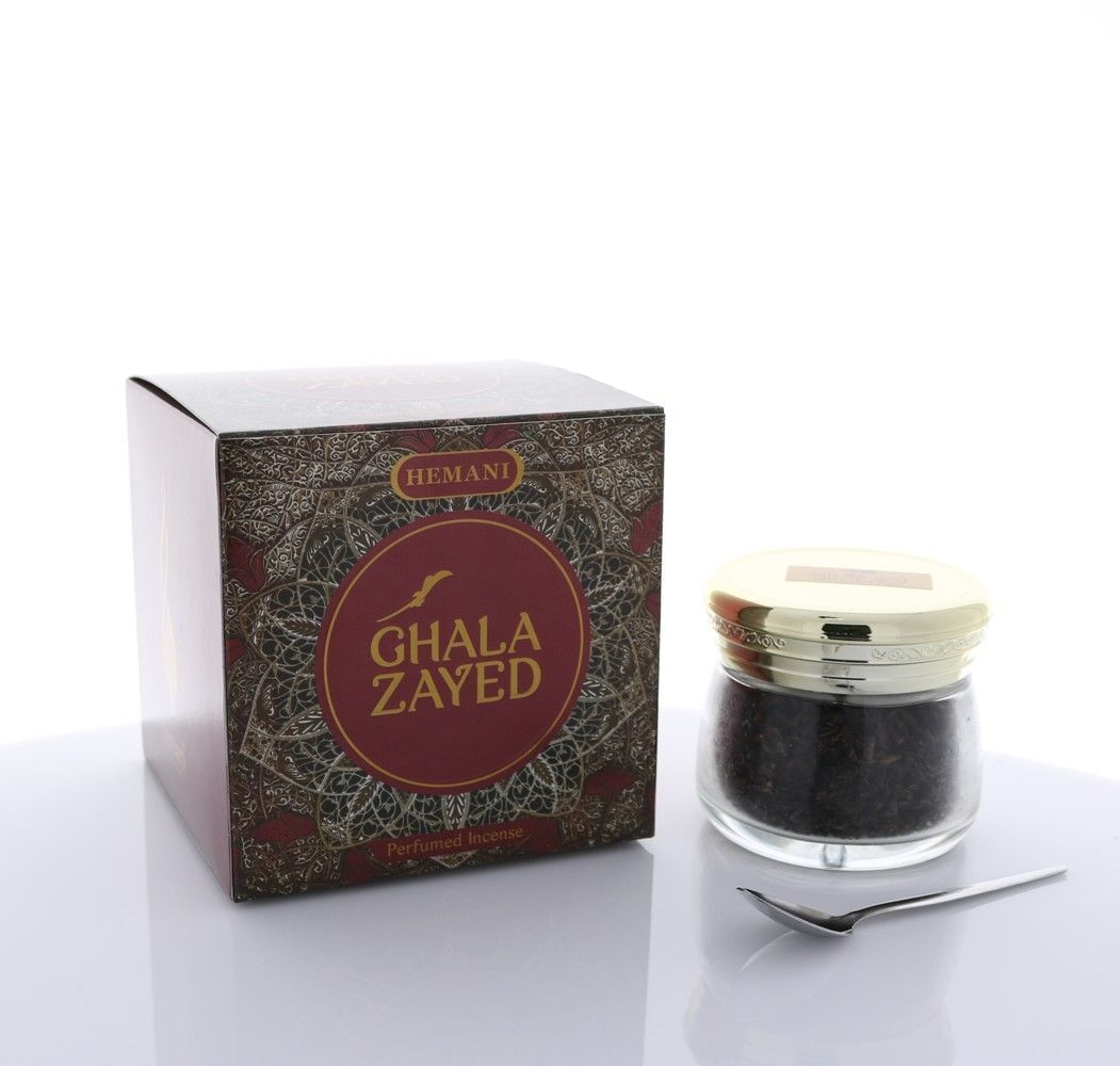 Hemani Bakhoor Ghala Zayed (Perfumed Incense) 90g *US Seller* F/S !!