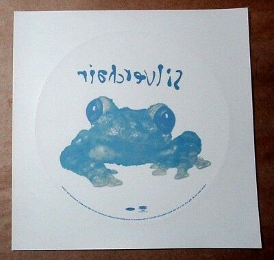 "Silverchair 1995 Original 8"" Frog Stomp Promo Display Static Cling / Sticker"