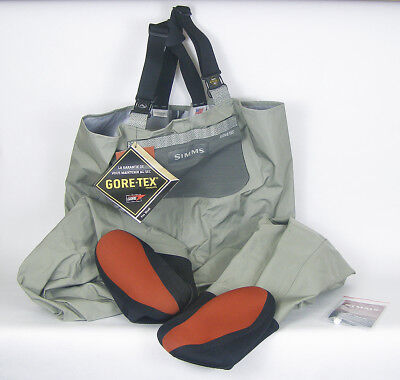 Simms Womens Headwaters Waders   Sage   Lf Brand New  Never Used