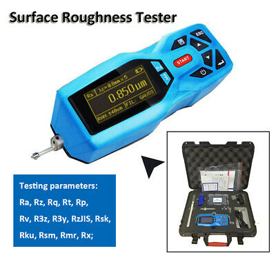Surface Roughness Tester Gauge Surftest Profilometer Profile Gauge 14 Parameters