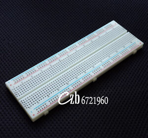 NEW-MB-102-MB102-Breadboard-830Point-Solderless-PCB-Bread-Board-Test-Develop-DIY