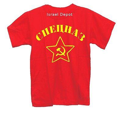 - Soviet SPETSNAZ Russian Commando Recon Elite Unit T-shirt S M L XL XXL 3XL 4XL