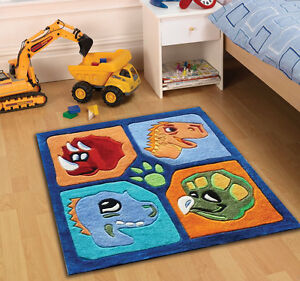 Children kids play dinosaur rugs 90 x 90 cm 3 39 x 3 for Cheap good quality rugs
