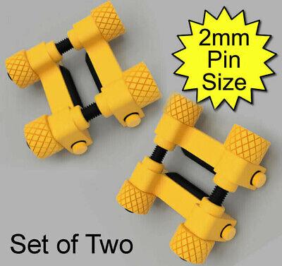 Bipolar 6mm conductive rubber clamps / TENS / estim / et312 / 2B / Electrode