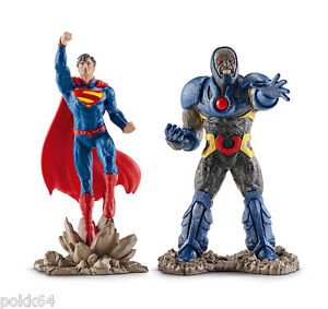 DC-Comics-pack-2-figurines-Justice-League-Superman-vs-Darkseid-10-cm-Schleich