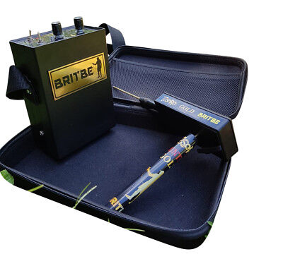 Britbe Tesoro Gold - Professional Prospecting Deep Geolocator Metal Detector