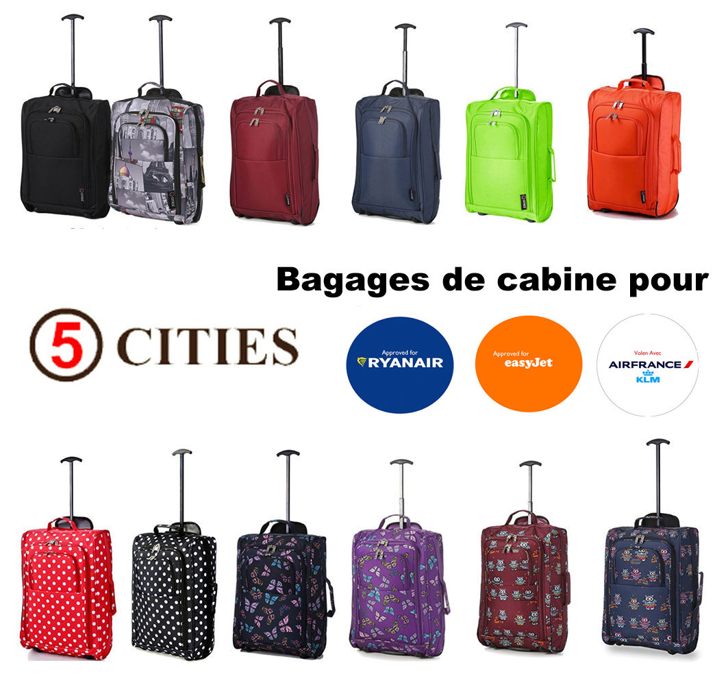 Sac France 42L 55x35x20cm Léger Air Cabine Cities Bagages Ryanair 5  qTY1nS8Rw ec8e24578fc