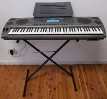 76 keys Casio WK1800 piano keyboard, stand, bag, deliver ~ Sydney Parramatta Parramatta Area Preview