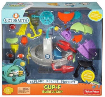 Fisher-Price Octonauts Gup F Build a Gup kids indoor toys