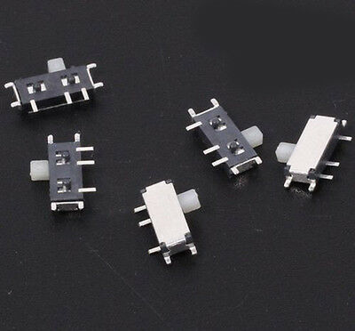 Us Stock 20x Msk-12c02 Mini Spdt 1p2t Slide Switch On-off Smd 7 Pin For Mp3 Mp4