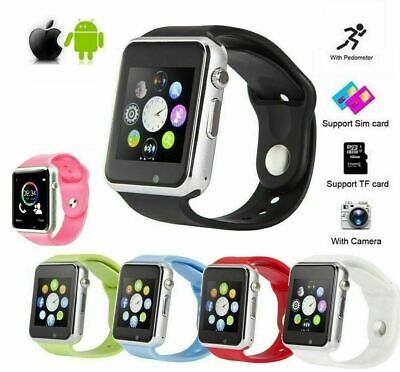 A1 Smart Watch Camera Bluetooth GSM Wrist Phone For iPhone Android Samsung LG US