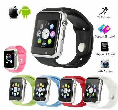 Smart Wrist Watch A1 Camera Bluetooth GSM Phone For iPhone Android Samsung -