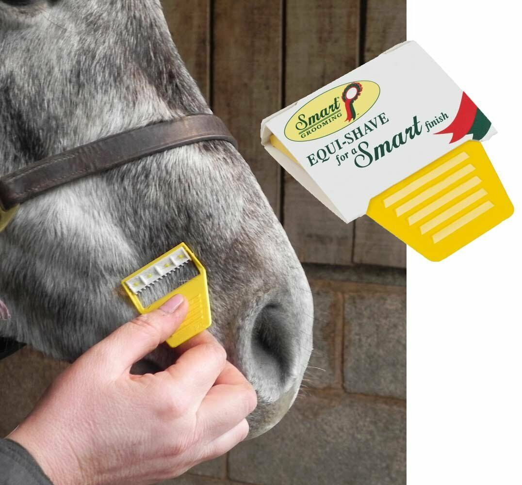Smart Grooming Equi-Shave Horse And  Pony, Disposable Saftey Razor Trimmer