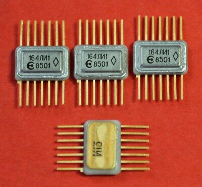 164li1 Ic Microchip Ussr Lot Of 2 Pcs
