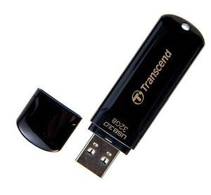 Transcend JetFlash 700 32GB USB 3.0 Flash Stick Pen Memory Drive - Black