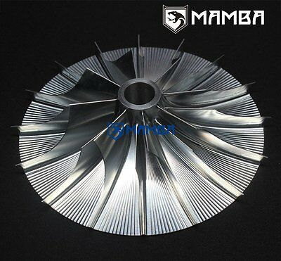 MAMBA Turbo Billet Compressor Wheel For Supercharger PISC ( 85.60 / 157.50 ) 8+8