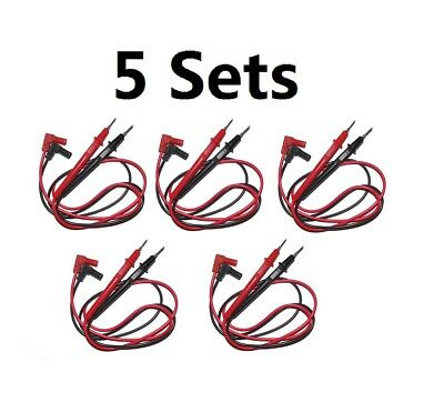High Quality 5 Pair Universal Probe Test Leads Pin For Digital Multimeter Meter