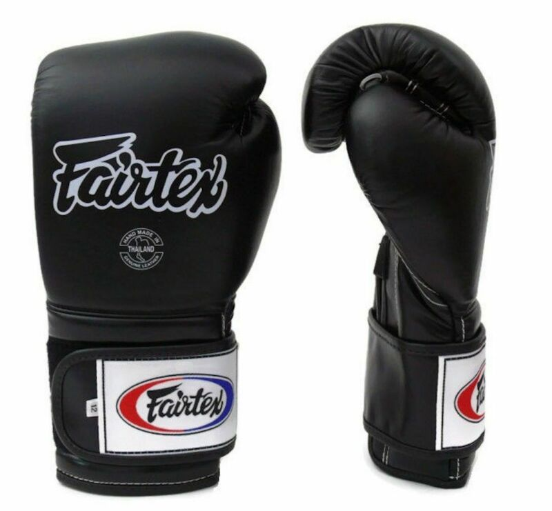 Fairtex Mexican Style Boxing Gloves - BGV9 - Black