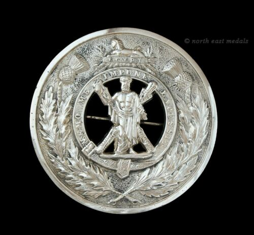 Black Watch (Royal Highlanders) Plaid Brooch