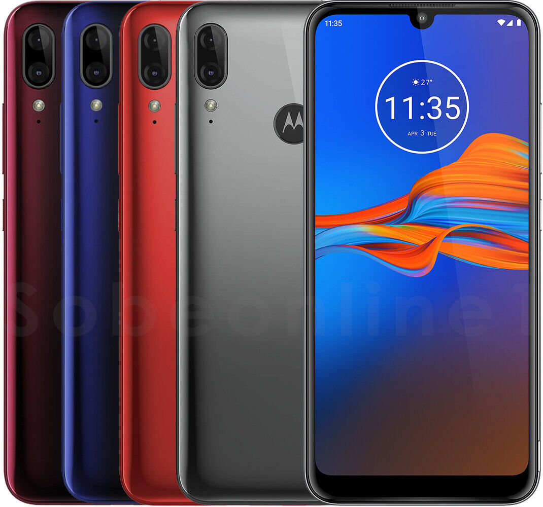 Motorola Moto E6s Plus 64GB 4GB RAM XT2025-2 Dual Sim (FACTORY UNLOCKED) 6.1