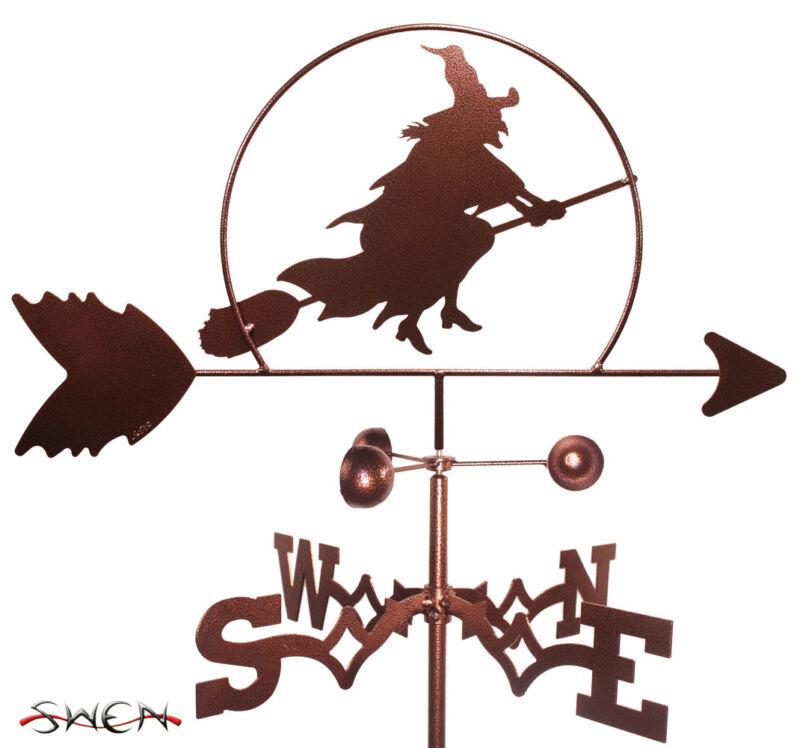Hand Made Witch Halloween Weathervane *NEW*