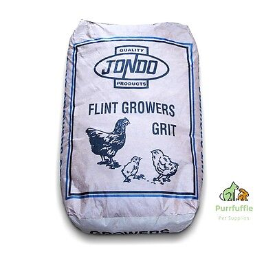 25KG JONDO FLINT GROWERS GRIT Chicken Duck Poultry Hard Insoluble Grit