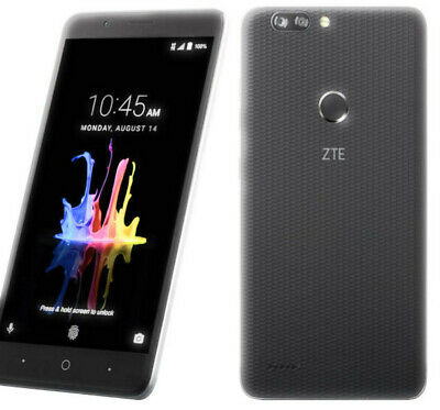 ZTE Blade Z Max | Grade B+ | AT&T | Gray | 8 GB | 6 in Screen