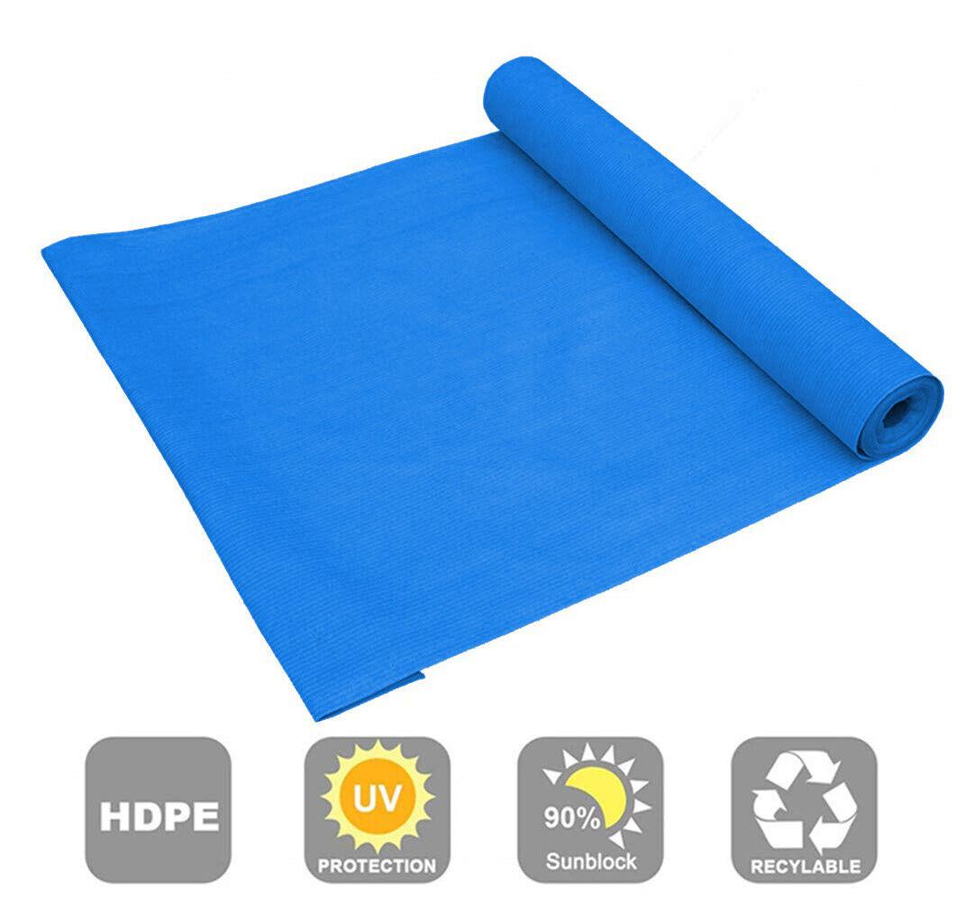 90 percent blue color sunblock shade cloth