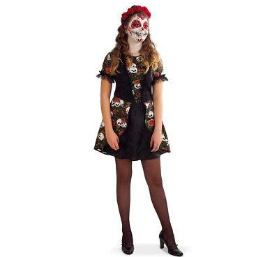 Kinderkostüm Kleid Catalina Kleid Tag der Toten Dia de los Muertos 1210159G13