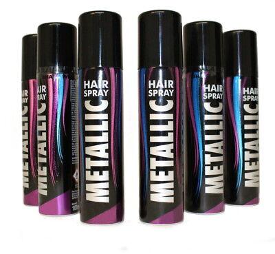 k farbiges Spray für die Haare Metallic-Effekt 12301713F (Farbiges Spray Für Die Haare)