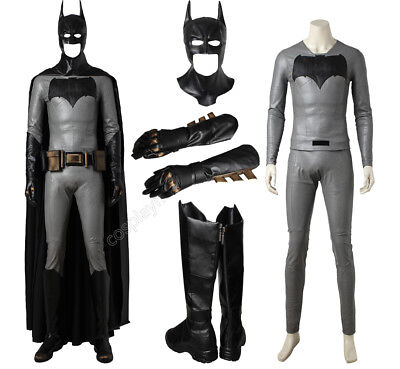 Batman Superman Dawn Of Justice Cosplay Batman Bruce Wayne Costume Full Set Suit](Superman Custom Costume)