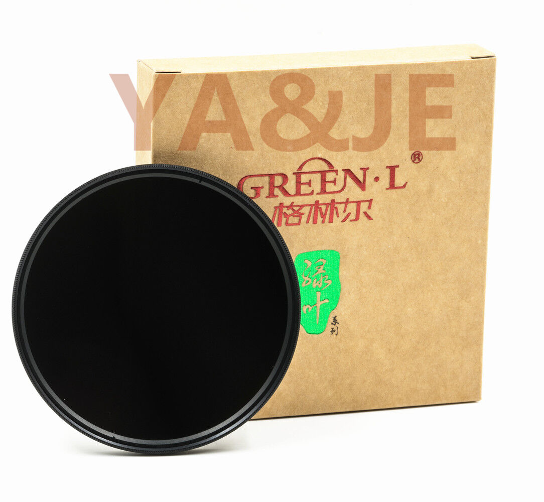 GREEN.L 67mm Neutral Density ND8 Lens Filter Neutral Density 3 Stop ND 8 67 mm