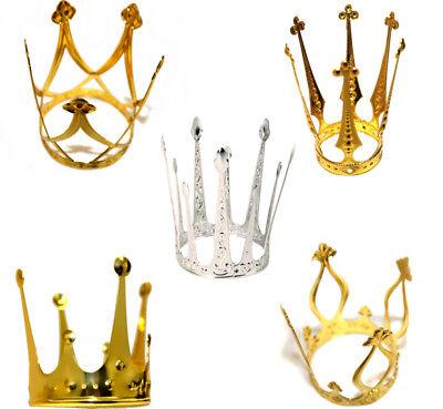 Krone Gold elegant Metallkrone Krönchen Prinzessinnenkrone Märchen 126191013F