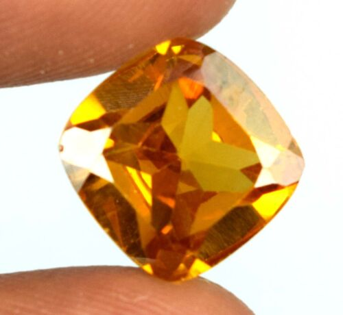 AAA Quality Brown Axinite Gemstone 100% Natural Cushion 7.55 Ct Certified V8194