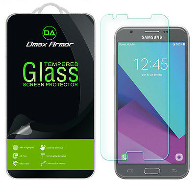 Dmax Armor Samsung Galaxy Amp Prime 2 Tempered Eyeglasses Screen Protector Saver