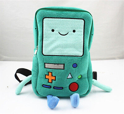 Adventure Time Bmo Beemo 13 Inch Backpack Soft Plush School Book Bag Gift
