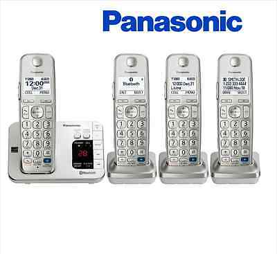 Panasonic KX-TG484SK Link2Cell Expandable Cordless Phone 4 Handsets