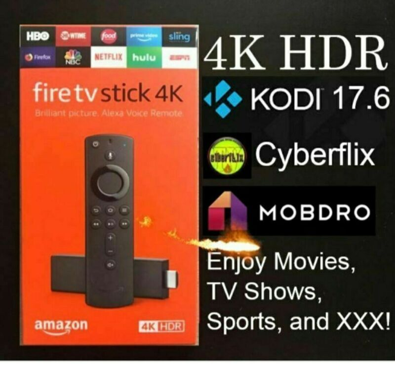 🔥FULLY LOADED🔥NEW Fire Stick 4K HDR TV - J🔥ILBR🔥KEN