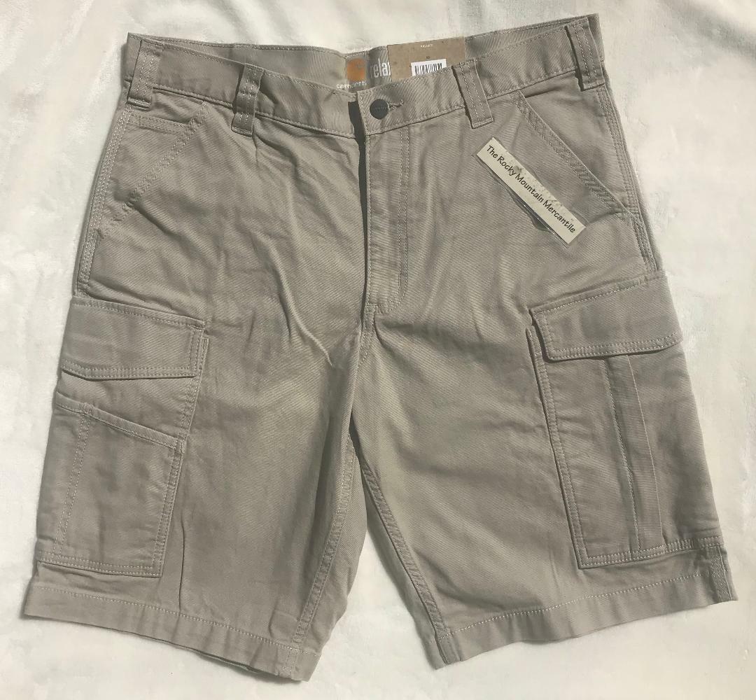 CARHARTT Cargo Shorts RUGGED FLEX RIGBY cargo shorts TAN REL