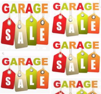 MASSIVE GARAGE SALE!!!